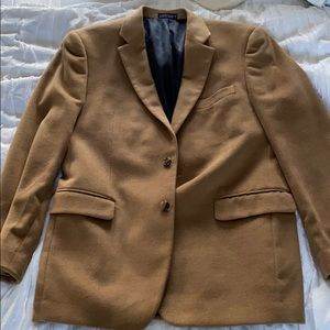 Brown Camel Hair Nautica Sports Coat